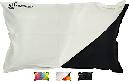 SHO YOUR Pillow Ultimate Self Inflating Camping Pillow, Travel Pillow, Air Pillow, Inflatable Pillow & Festival Pillow