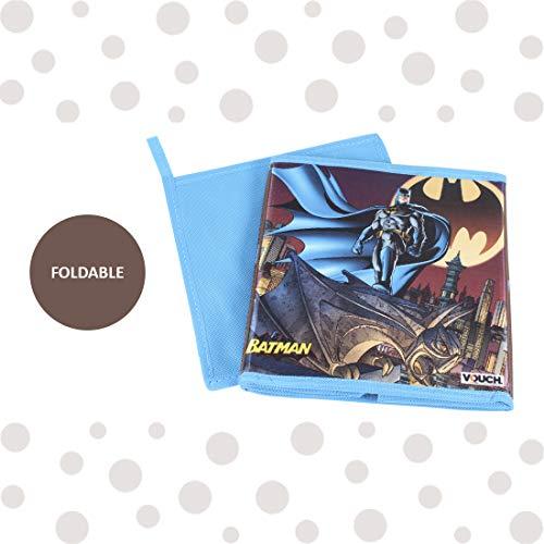Batman SBS_BM1 Toys Organizer Storage Box for Kids, Small, Blue