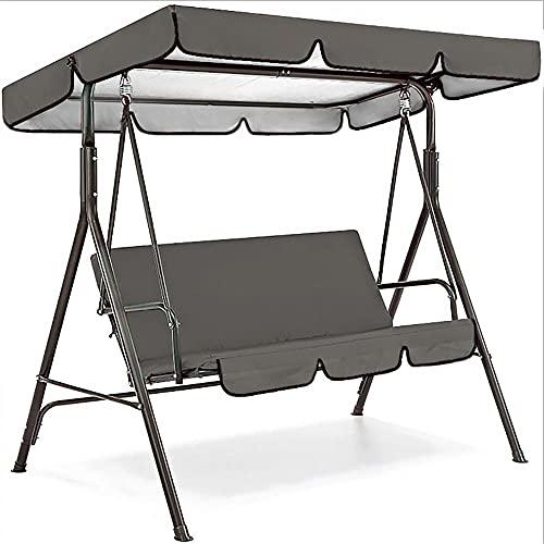 Sustitución del toldo del columpio del patio al aire libre, cubierta impermeable de la sombra del sol y cubierta de la silla para el asiento de los