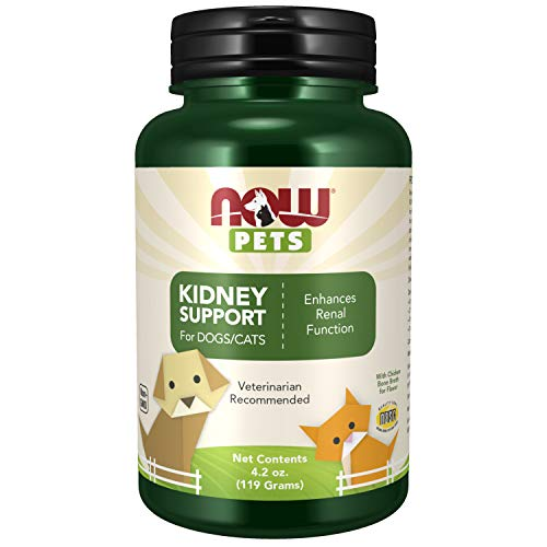 NOW Foods Pets, Kidney Support for Dogs & Cats Powder, 200 g