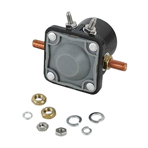 seductive GF Nuevo 12 Volt Starter Solenoide Switch Fit para Motores Marinos de Motor Externo de 12 voltios 383622 395419 582708 586180 GJF (Color : Black)