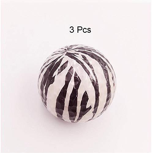 Bequem Set Leopard Golf Doppeltes farbiges Muster Golf Crystal Ball Spiel Ball Geschenk Innen- und Außenbereich für Männer Frauen dauerhaft (Farbe : C5, Größe : 3pcs)