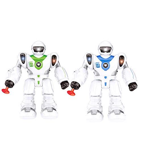iBaste Robot de juguete para niños, policía espacial, robot educativo inteligente