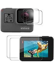 GoPro Hero 5 Hero 6 Hero 7 Black 9H Screen Protector Lens Protective Foils 2pcs each