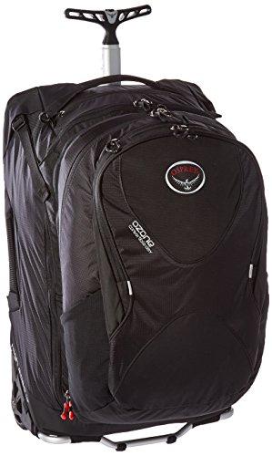 Osprey Ozone Convertible 22'/50L Wheeled Luggage, Black