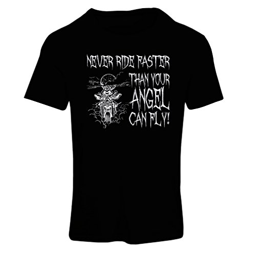 lepni.me N4694F Camiseta Mujer Motorcycle Quotes Sayings for Bikers