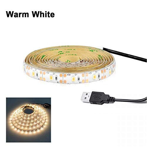 1 M 2 M 3 M Draadloze Bewegingssensor Led Nachtlampje Bed Kast Trap Licht Usb Led Strip Lamp 5 V Voor Tv Backlight Verlichting