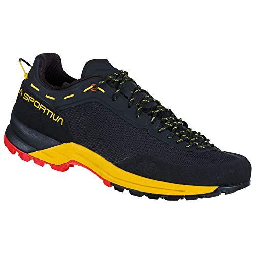 LA SPORTIVA TX Guide, Zapatillas de montaña Hombre, Black/Yellow, 44.5 EU