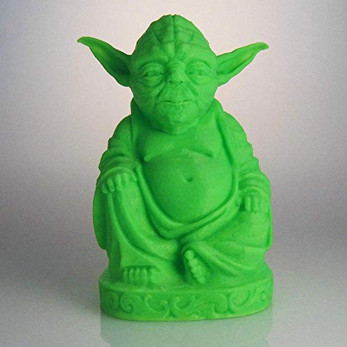 muckychris Yoda Buddha | Star Wars | Glow in The Dark Green 9'