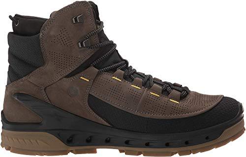 ECCO Men's Biom Venture Tr Gore-tex Hiking Boot, Black/Tarmac/Yak Nubuck, 43 M EU (9-9.5 US)