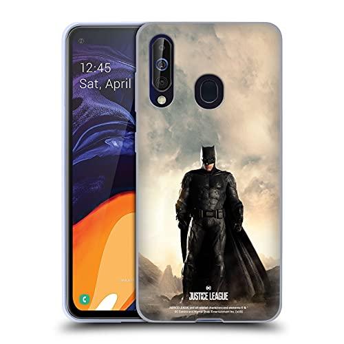Head Case Designs sous Licence Officielle Justice League Movie Batman Affiches De Caractère Coque en Gel Doux Compatible avec Samsung Galaxy A60 / M40 2019