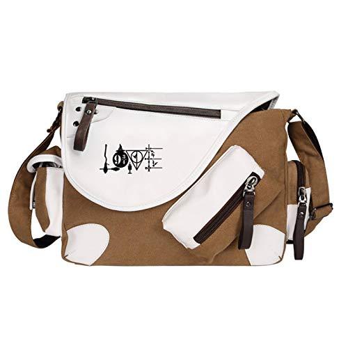 Hogwarts School Bag Shoulder Bag Harry Potter Fan Gift Messenger Bag Medium Brown-E
