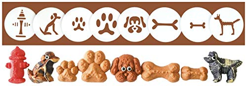 Dogs, Paws & Bones 8 Disk Set for Cookie Presses