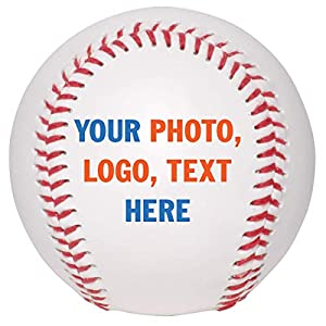 PERFECT CUSTOM GIFT FOR ANY BASEBALL FAN. BallStars baseball is the perfect memorable gift for any baseball player, coach, son, boyfriend, daughter, father, or anyone who loves the sport HIGH QUALITY BALL CUSTOMIZATION. Personalize baseball with prin...