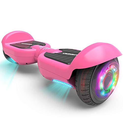 HOVERSTAR All-New HS2.0 Hoverboard Two-Wheel Self Balancing Flash Wheel Electric Scooter (Pink)