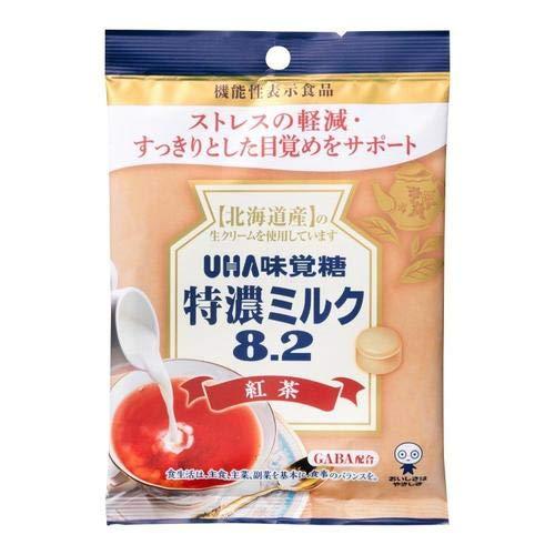 【2個】UHA味覚糖 特濃ミルク8.2 紅茶