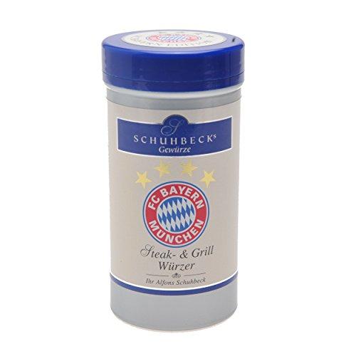 FC Bayern München Schuhbecks Steak & Grillwürzer kompatibel + Sticker München Forever, Gewürze, Grill - Würzer