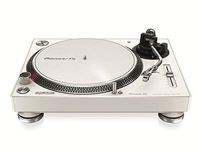 Pioneer DJ PLX-500-W Direct Drive DJ Turntable, White