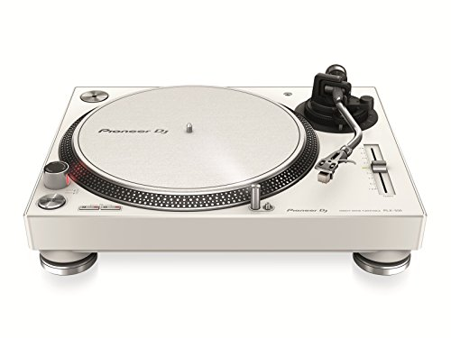 Pioneer PLX-500 Direct drive DJ turntable Blanco - Tornamesas para dj (Direct drive DJ turntable, 33 1/3,45,78 RPM, 0,15%, 50 dB, 1,6 kg/cm, 1 s)