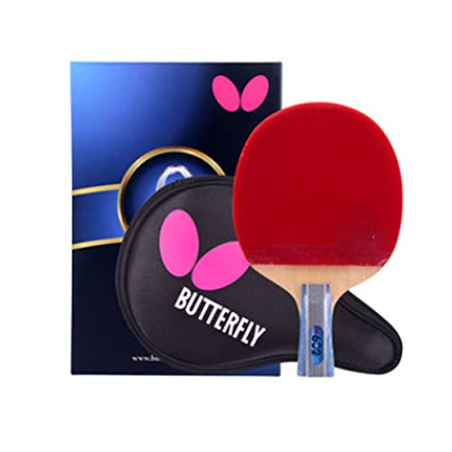 Lowest Prices! 8HAOWENJU Table Tennis Racket, Genuine Double-Sided Anti-Adhesive Racket, Professiona...