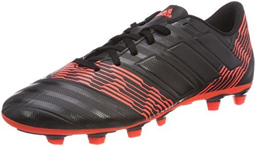 adidas Herren Nemeziz 17.4 FxG Fußballschuhe, Mehrfarbig (C Black C Black S O L Re D), 40 2/3 EU