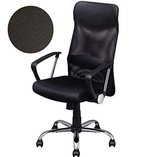 アイリスプラザ オフィスチェア メッシュ ブラック