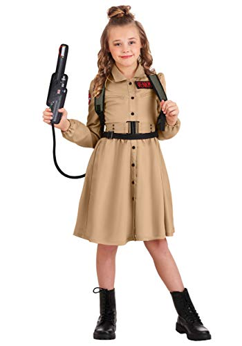 Ghostbusters Costume Dress for Girls Small
