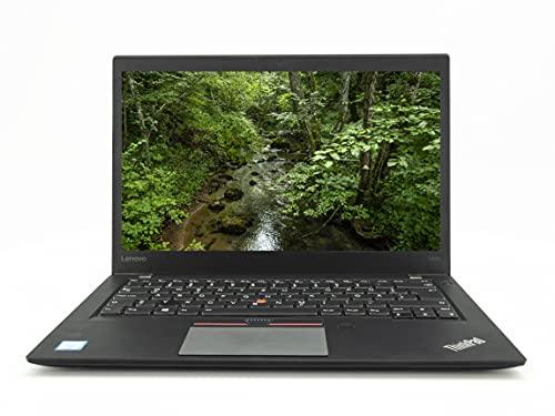 Lenovo ThinkPad T460s Leistungsstarter Laptop | Intel Core i7-6 Gen | 14 Zoll |Full HD On-Cell Touch | 8 GB | 256 GB | Windows 10 Pro | DE (Generalüberholt)