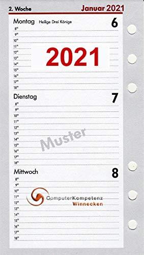 Kompakt A6 Kalendarium (1 Woche = 2 Seiten)  2015