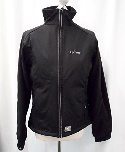 Kjelvik hochwertige Sandinavian Outddor Softshell-Jacke Saskia Farbe schwarz Größe M 40/42 (Damen) Wasser und schmutzabweisend