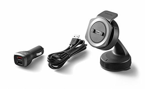 Soporte TomTom Rider para coche para todos los navegadores GPS de moto de TomTom, incluido el cable y el cargador dual de alta velocidad (consulte la lista de compatibilidad a continuación)