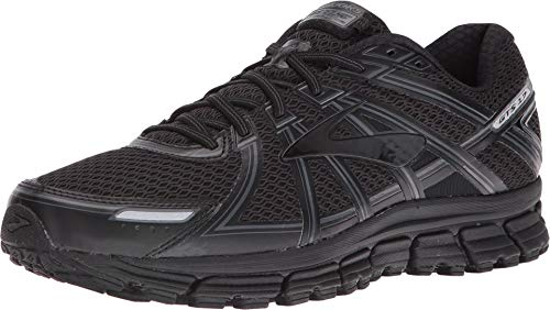 Brooks Men's Adrenaline Gts 17 Gymnastics Shoes, Black (Anthracite), 8 UK