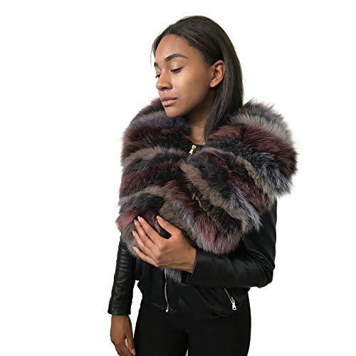 Scarf collar San Diego Mall made of fur List price fox arctic natural