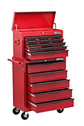 Heavy duty 14 drawer combination unit has all steel construction Comes with ball bearing slides Key locking facility with full length drawer pulls and durable paint finish