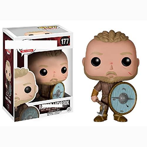 Figuras De Anime Pop Vikingos Ragnar Lothbrok # 177 PVC Colección De Figuras De Acción Adornos Modelo 10 Cm