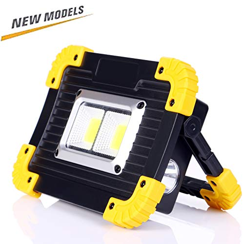 ALFLASH 1000Lumen Luz de trabajo LED portátil Recargable