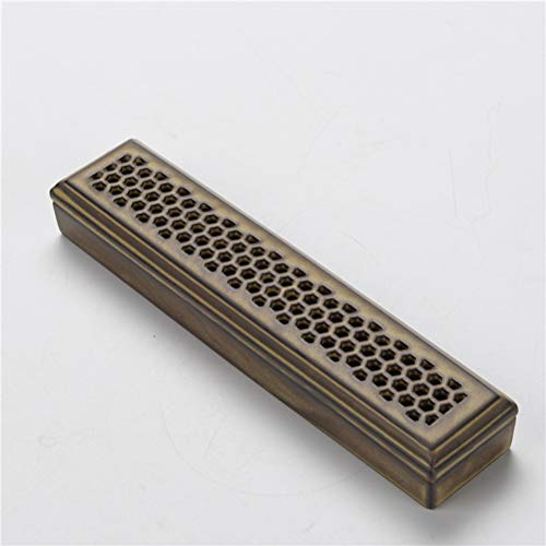 Wooden Incense Joss Stick Cone Holder Smoke Box