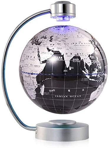 WYZXR 8inch magnetische bol met led-licht-antigravitatiebol voor kinderinterieur, bureaudecoratie