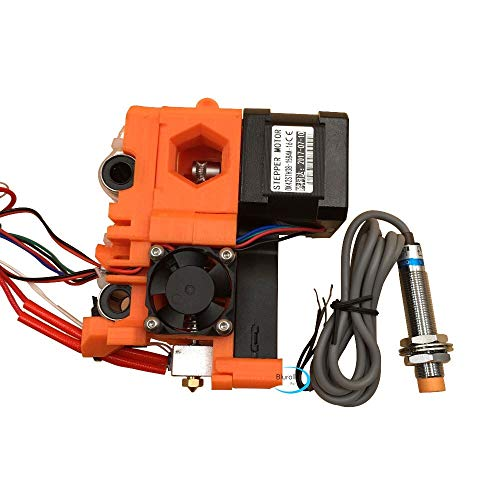 HUANRUOBAIHUO For Reprap Prusa i3 MK2 extruder full kit, with hotend, X carriage, P.I.N.D.A. probe PLA printed parts prusa i3 mk2s extruder 3D Printer Extruders accessories