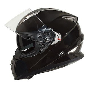 BILT Raptor Full-Face Motorcycle Helmet - LG, Black