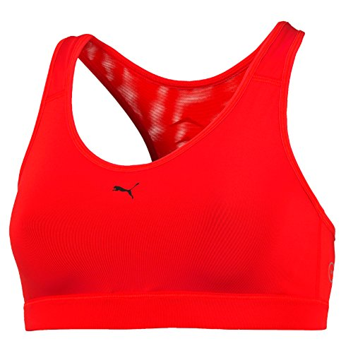 PUMA Damen Bustier PWRSHAPE Cardio, rot-Red Blast, S