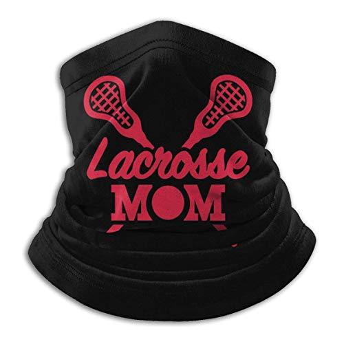 Banda De Protección UV,Lacrosse Mom Neck Warmer Bandana, Bufanda De Cuello Decorativa Lavable para Correr Unisex Adulto,26X30Cm