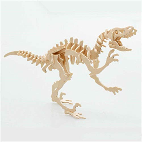 N-B 3D Simulation Dinosaur Puzzle Toys,DIY Funny Model Kits,Wooden Puzzle,Educational Intelligent Interactive Toy for Childrens