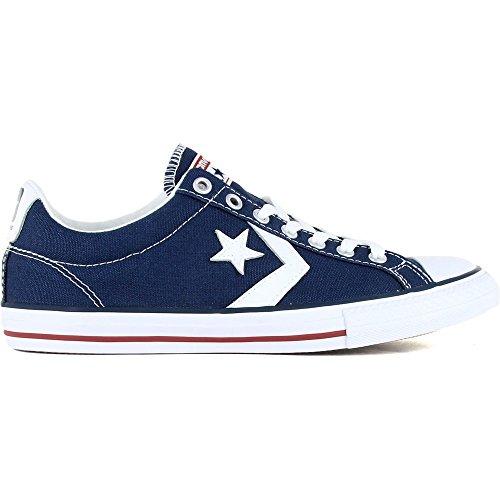 Converse Lifestyle Star Player Ev Ox, Zapatillas Unisex niño, Azul (Navy/White...