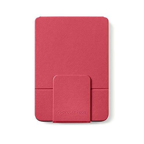 Rakuten Kobo Clara HD SleepCover e-book reader case Red 15.2 cm (6) - e-book covers (Libro, Red, Kobo, 15.2 cm (6), Faux Leather, Clear HD)