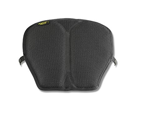 Skwoosh MSAF0910 Black Breathable Mesh Mid Size Motorcycle Gel Seat Pad