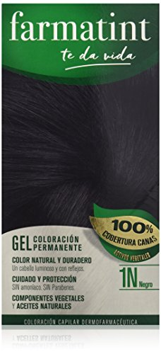Farmatint Gel 1N Negro | Color Natural y Duradero | Componen