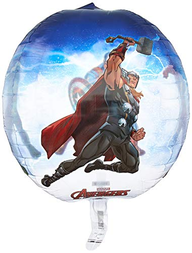Amscan International–3466101Orbz globo en forma de los Vengadores