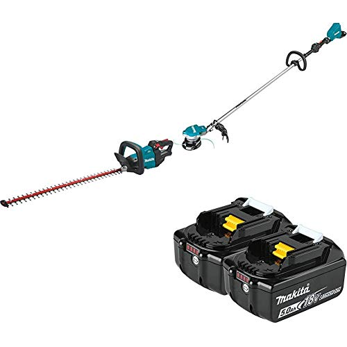 Why Choose Makita XHU08Z 18V LXT Lithium-Ion Brushless Cordless 30 inch Hedge Trimmer and XRU15Z Cor...