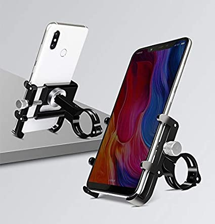 Bicycle /& Motorcycle Phone Mount red Anti-Theft,Aluminum Alloy Bike Phone Holder with 360/° Rotation Fit iPhone X XR SE 11 12 12pro Samsung Galaxy S20 FE 5G 10 S9 S8 Note 20 Ultra 10